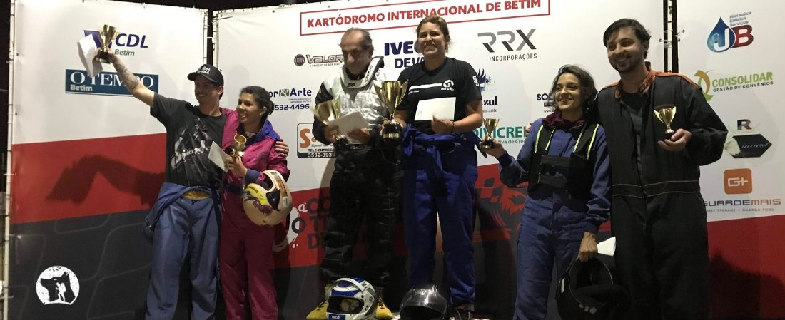 LOBOS DO MATO PROMOVE I DESAFIO DE KART DO BANDO