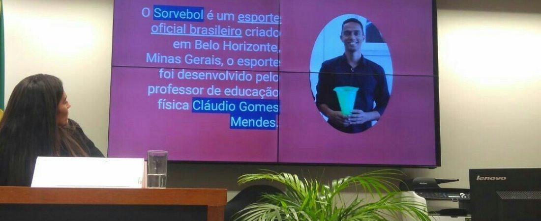 COMISSÃO PROMOVE AUDIÊNCIA INTERATIVA SOBRE ESPORTES DE CRIAÇÃO NACIONAL