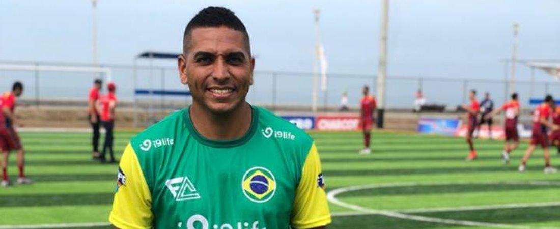 NOSSO ATLETA CONVOCADO PRA SELEÇÃO BRASILEIRA DE FUT7!