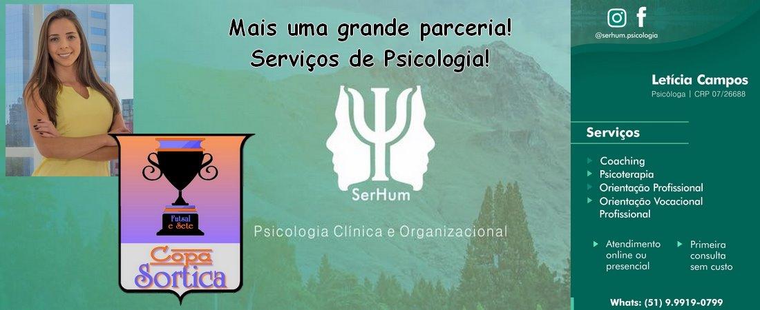 PARCERIA COPA SORTICA - SERHUM PSICOLOGIA CLINICA E ORGANIZACIONAL