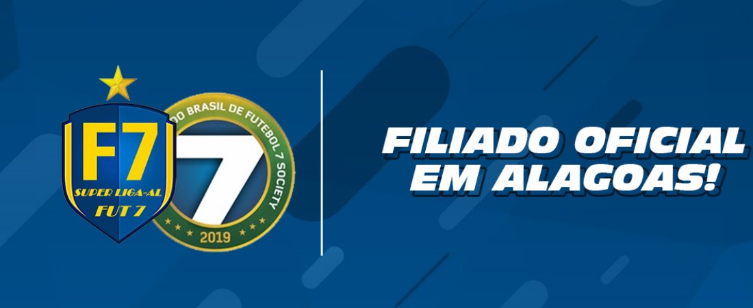 SLAF7 AGORA É FILIADO OFICIAL DA CBF7S