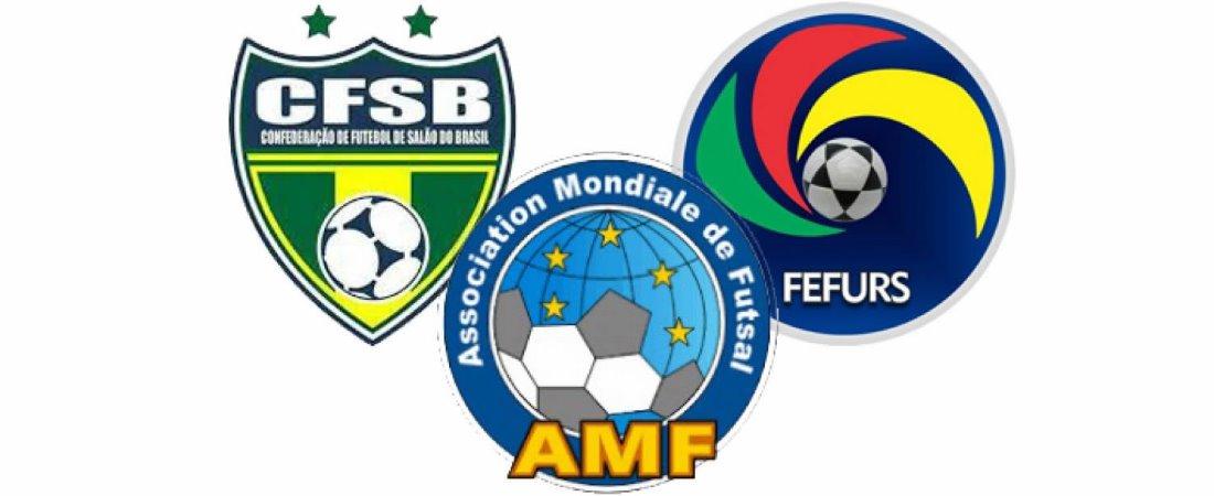 4cc660c3c3496 Escudos da Associação Mundial de Futsal